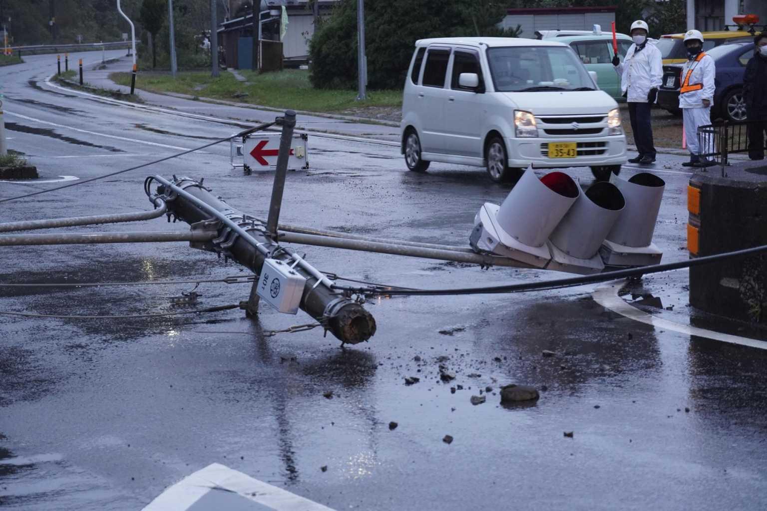 Σεισμός 6,1 ρίχτερ στο Τόκιο – Ανησυχία για ενδεχόμενο τσουνάμι