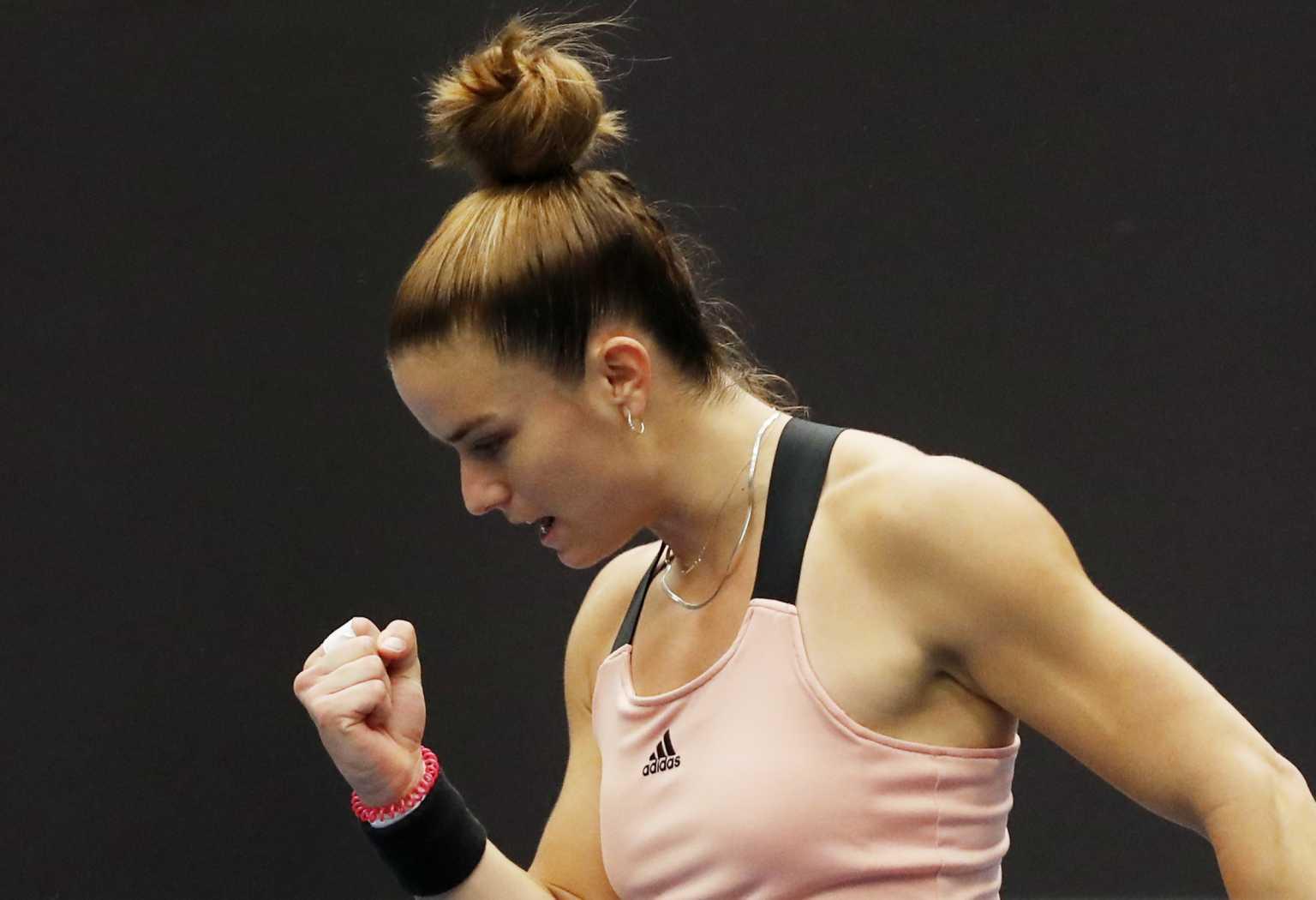Η Σάκκαρη πρώτη Ελληνίδα σε WTA Finals
