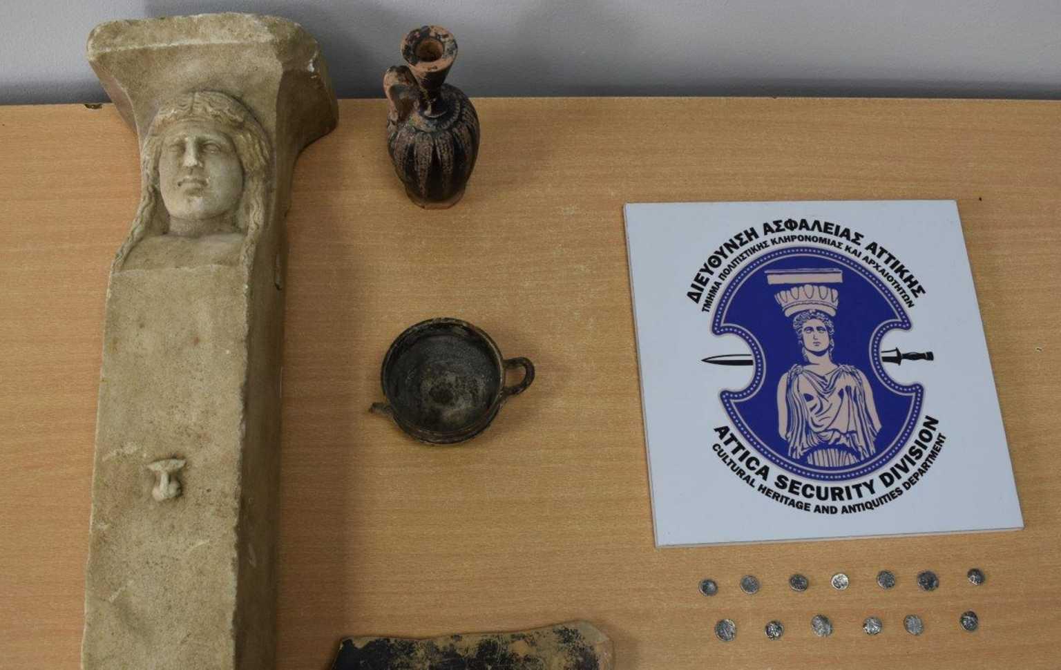 Ηλεία: Αρχαιοκάπηλοι πιάστηκαν στη φάκα – Ετοιμάζονταν να πουλήσουν σπάνιες αρχαιότητες
