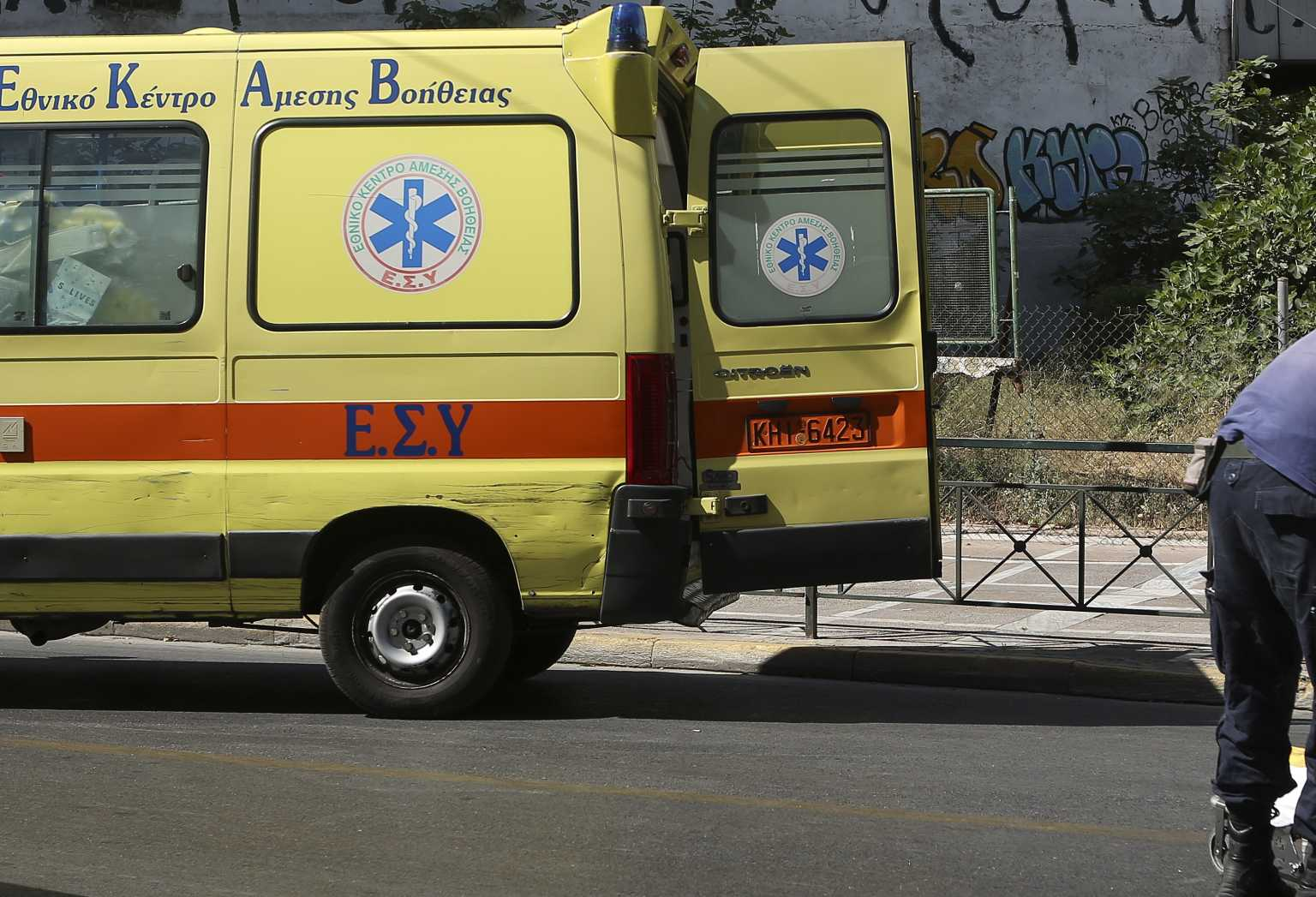 Κατερίνη: 2χρονο κοριτσάκι παρασύρθηκε από φορτηγό και νοσηλεύεται στο νοσοκομείο