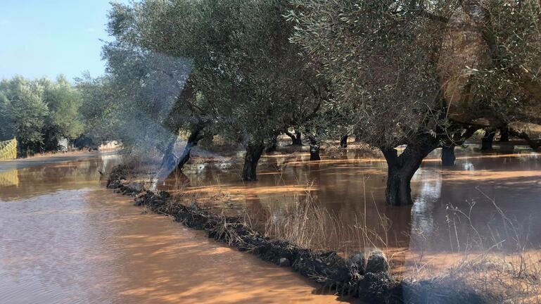 """Σημαντικά ύψη βροχής στην Κρήτη άφησε πίσω της η κακοκαιρία """"Μπάλλος"""""""