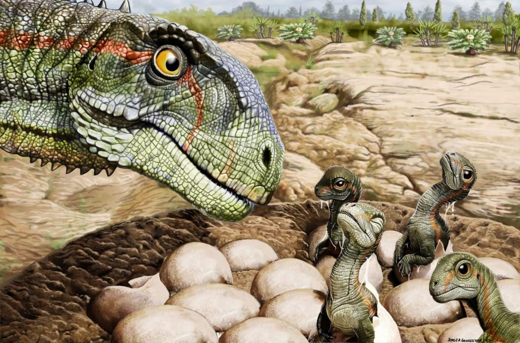 Απολιθώματα στην Αργεντινή αποκαλύπτουν την τρυφερή πλευρά των δεινοσαύρων