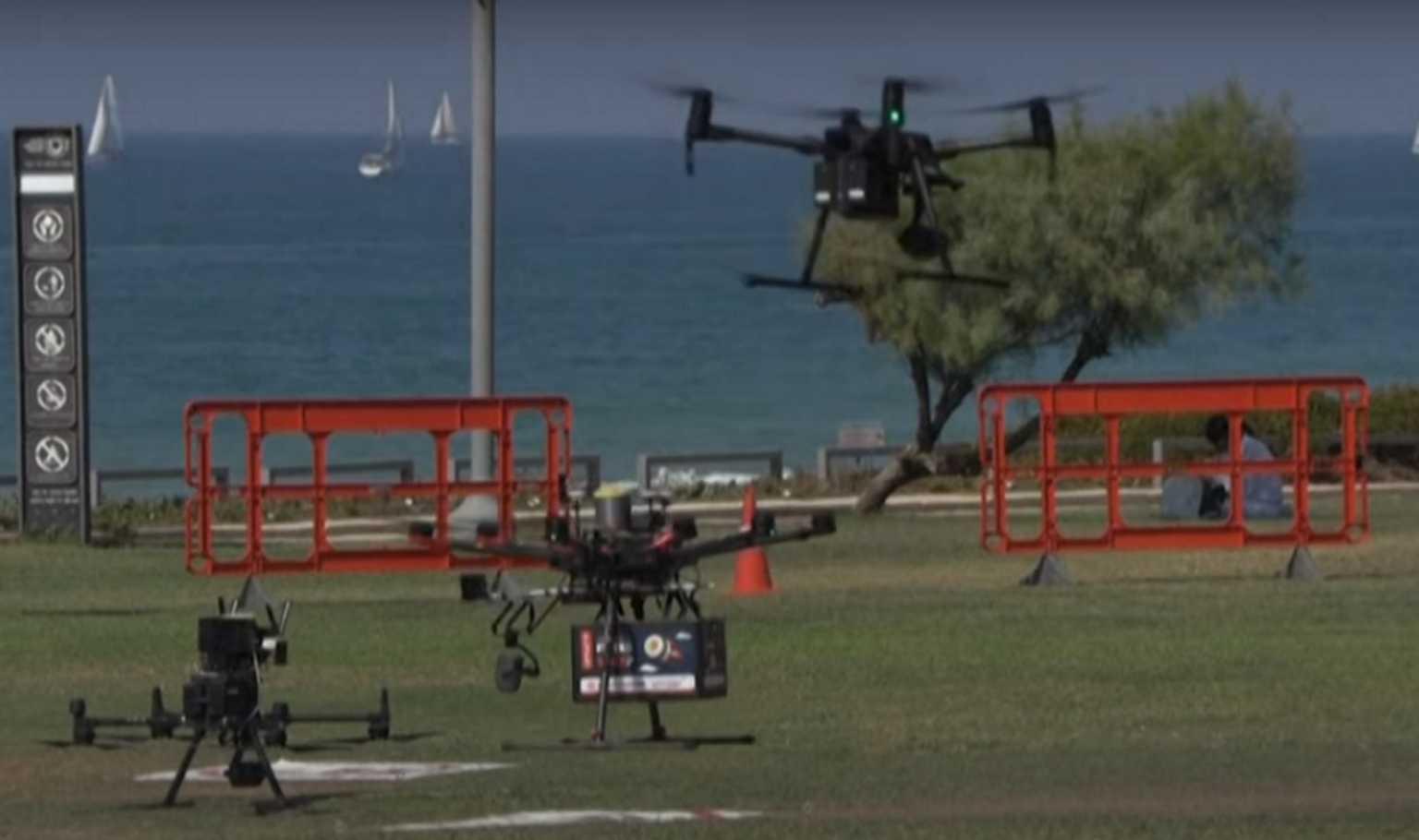 «Ιπτάμενο» σούσι στο Ισραήλ – Drone για παραδόσεις τροφίμων σε πακέτο και φαρμάκων