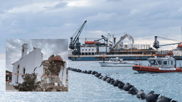 """Σεισμοί στην Κρήτη: Το καλώδιο κράτησε """"όρθια"""" την ηλεκτροδότηση του νησιού"""