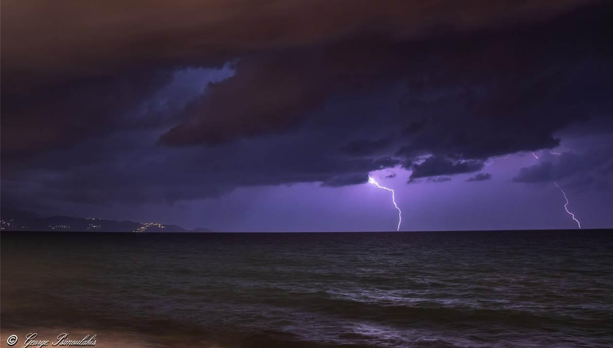 Ο καιρός στην Κρήτη: Βροχές και καταιγίδες κατά τόπους ισχυρές αύριο Παρασκευή