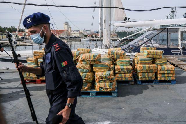 Πορτογαλία – Κατασχέθηκε ιστιοφόρο με 5,2 τόνους κοκαΐνης