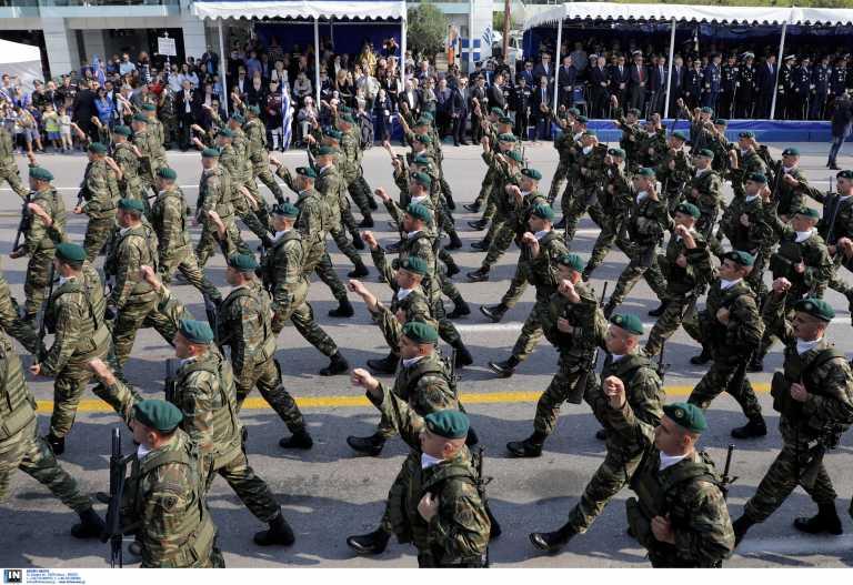 Μόνο στρατιωτική η παρέλαση της 28ης Οκτωβρίου με διάρκεια 60 λεπτά