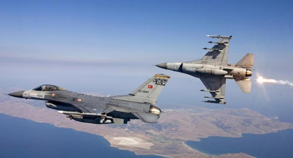 Νέες προκλήσεις από Τουρκία – F16 πέταξαν πάνω από Φαρμακονήσι, Λειψούς και Οινούσσες
