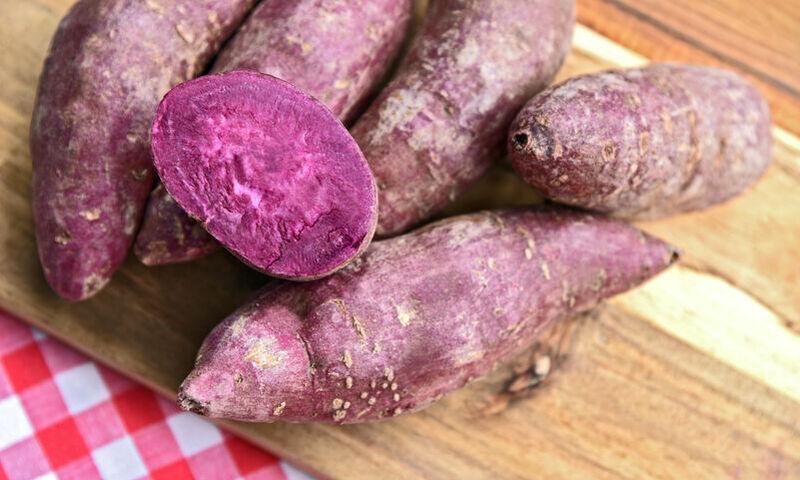 Τα αντικαρκινικά, αντιδιαβητικά και αντιυπερτασικά οφέλη της μωβ πατάτας (εικόνες)