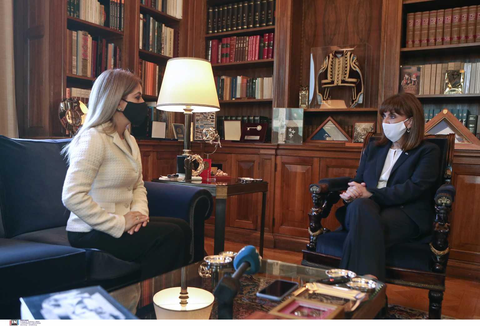Κατερίνα Σακελλαροπούλου: Κορυφαία εθνική προτεραιότητα η επίλυση του Κυπριακού