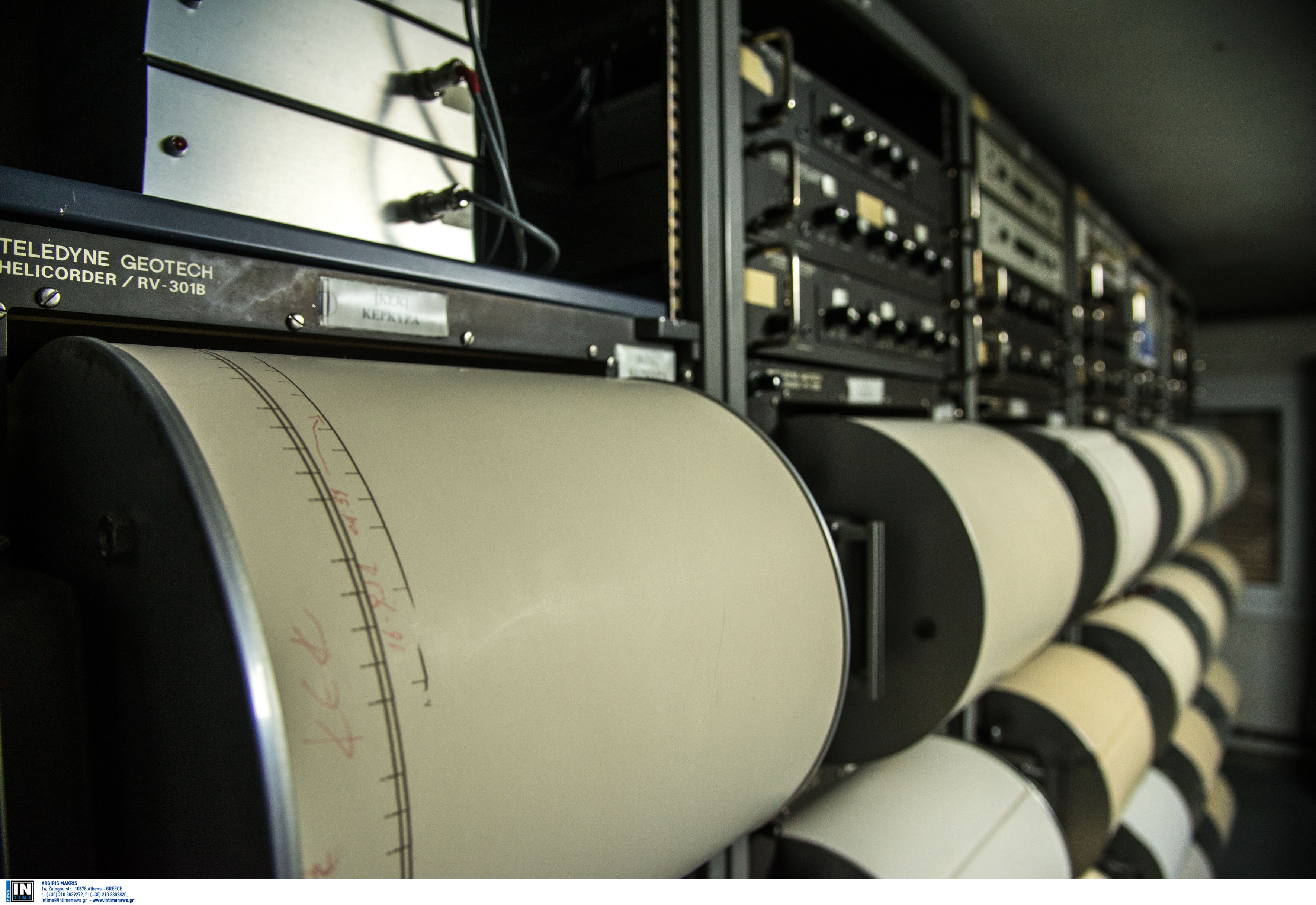 Σεισμός 3,9 ρίχτερ νότια της Ιεράπετρας – 17,1 χιλιόμετρα εστιακό βάθος