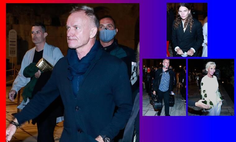 O Sting και σύσσωμη η οικογένειά του στην Ελλάδα!