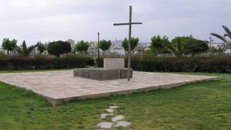 Τρισάγιο στον τάφο του Νίκου Καζαντζάκη