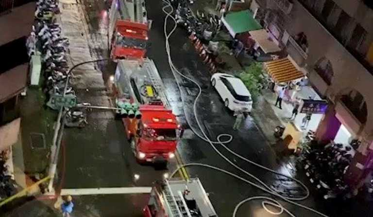 Ταϊβάν: 46 νεκροί και 41 τραυματίες από φωτιά σε κτίριο με διαμερίσματα