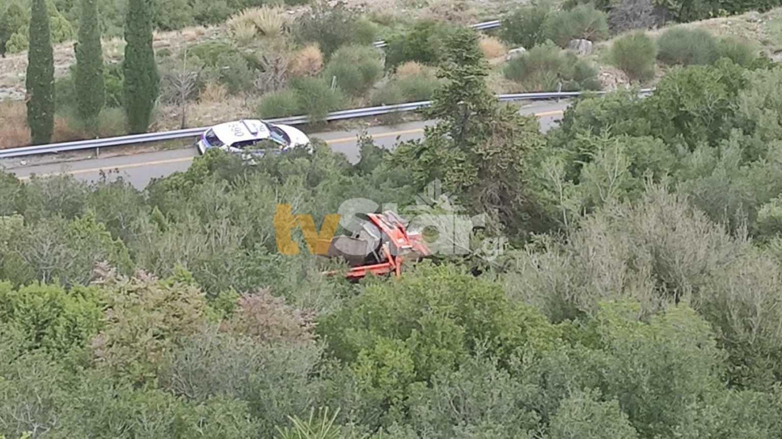 Λιβαδειά: Αυτοκίνητο έπεσε σε γκρεμό 60 μέτρων – Ένας νεκρός και ένας τραυματίας