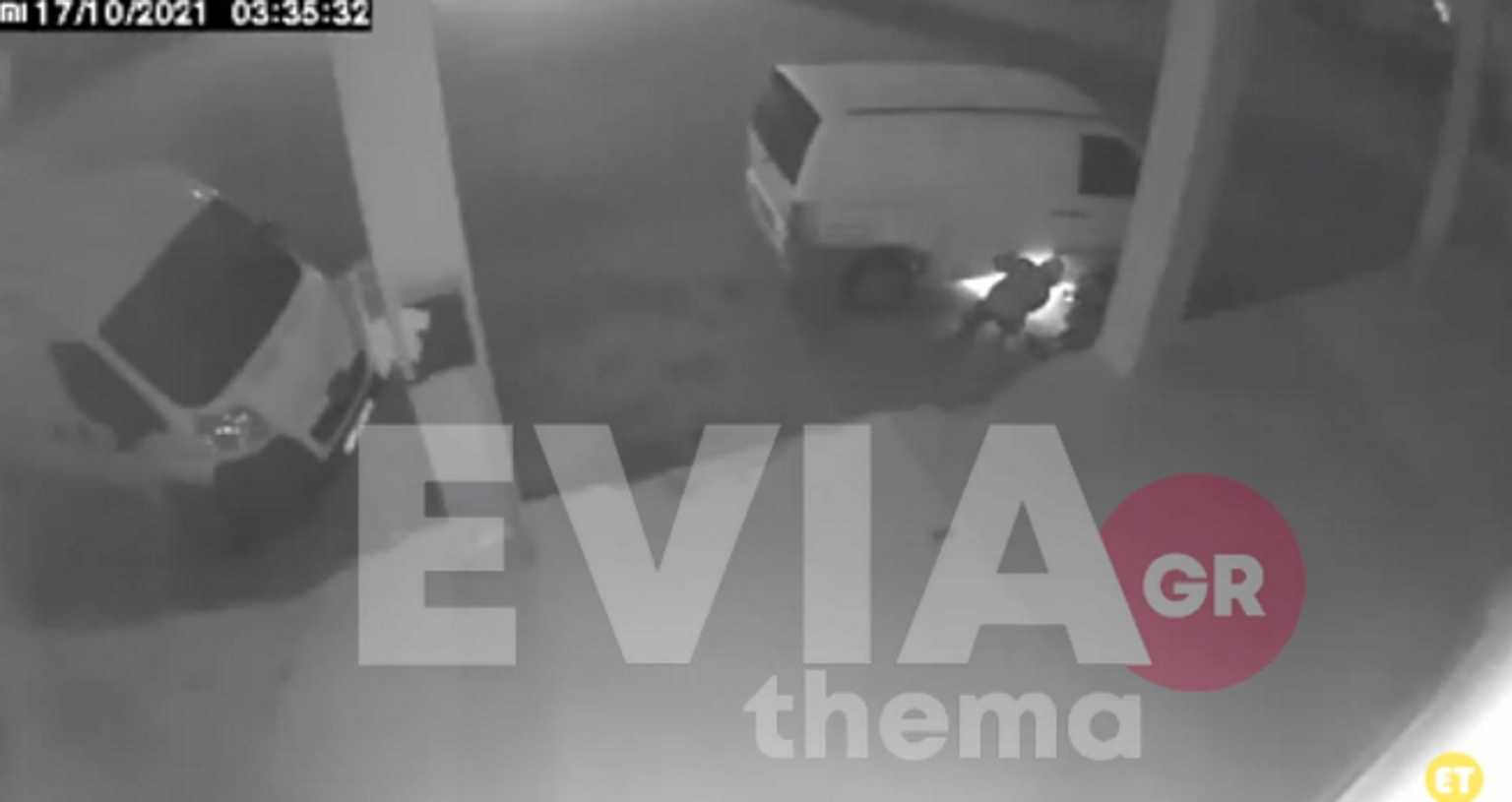 Βίντεο ντοκουμέντο από τη δράση σπείρας που κλέβει καταλύτες αυτοκινήτων στη Χαλκίδα